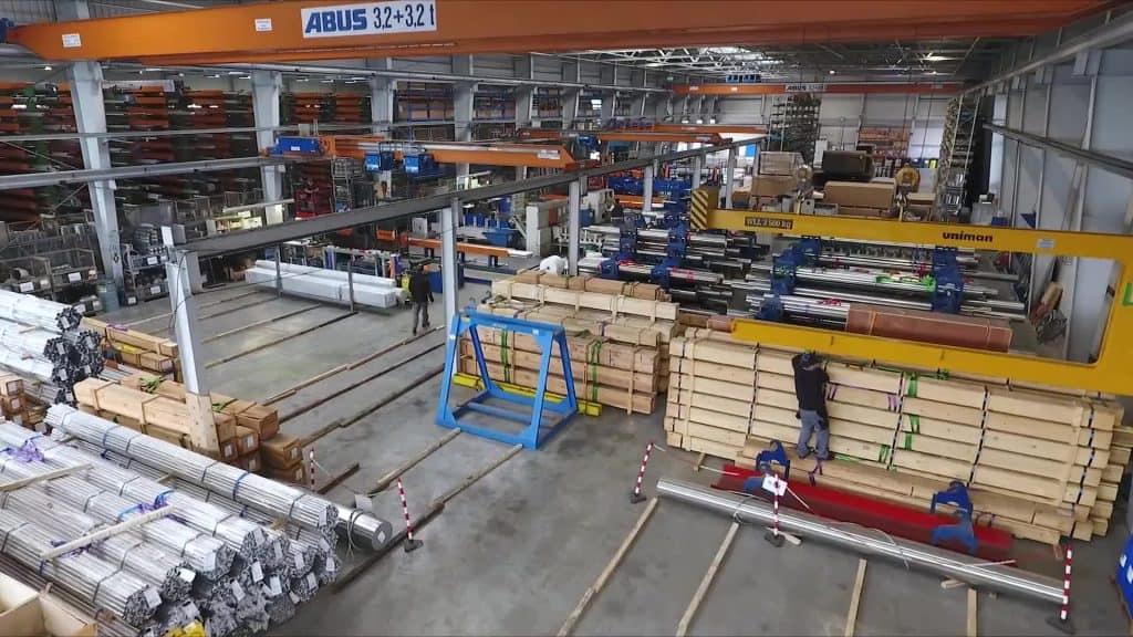 stock metalli per leghe e super leghe in acciaio inox, duplex e nichel